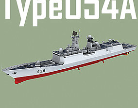 Chinese Navy Type 054 A Jiangkai Class Missile 3D model