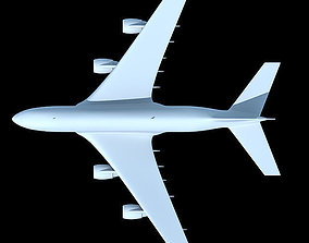 Detailed not Textured Airbus UT 3D