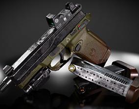 FNX-45 Venom Pistol 3D model