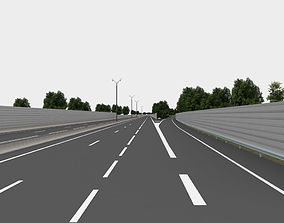 speed highway navigation 3D road