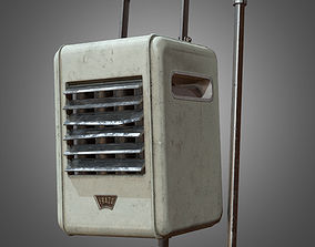 3D asset Indoor Ceiling Heater - PBR Game Ready