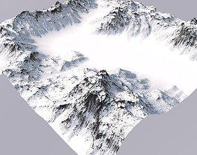 Snowy Terrain MT049 3D