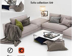 3D Sofa collection 09