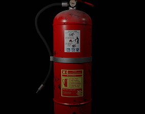 flammable 3D Fire Extinguisher