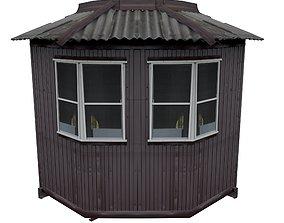 3D asset Balcony metais 01 42 Corner window for Russia