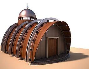 Chapel church temple 3D