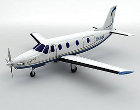 Ibis Aerospace AE-270 Aircraft 3D asset VR / AR ready