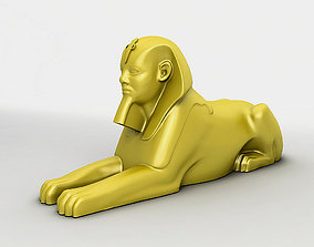 Egyptian Sphinx 3D model