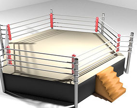 3D model Ring Arena - 6 sided