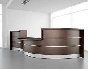 Reception Desk 01 3D model