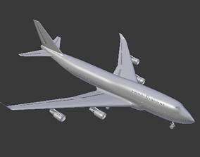 3D model 747-8 Boeing