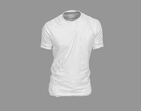 T-Shirt shirt 3D asset game-ready