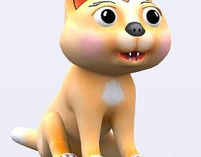 animated 3DRT - Toonpets animals - Cat