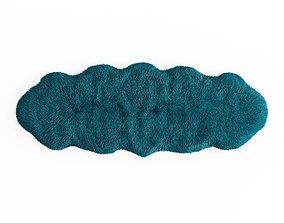 3D model Sheepskin rug