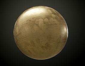 3D model Metal Bronze Seamless PBR Texture
