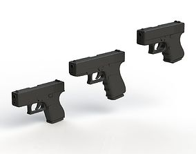 3D print model Glock Pack 1-1 Scale