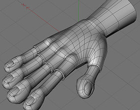 3D model Hand2