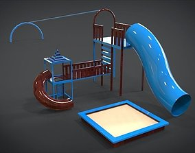 3D asset Playground Set 7