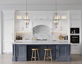 miele 3D model Classic kitchen 3