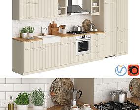 Ikea Metod Hittarp 3D model