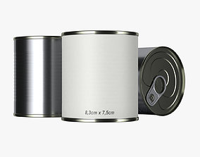 3D lunch tin can type1