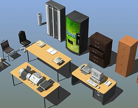 3D model Office Furniture Collection table