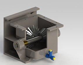 Gearbox the screw conveyor 3D model