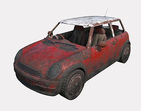 Abandoned Car 17 3D model