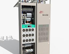 Telecom Power System 02 3D model