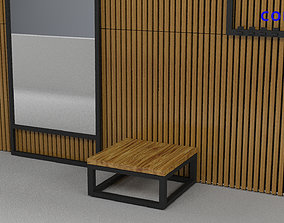set Hallway a cafe bar or office v-ray corona 3D asset