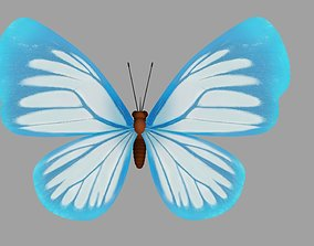 3D model Cartoon Butterfly Rig