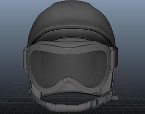 3D SKI Helmet with Googles sports