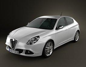 3D Alfa Romeo Giulietta 2011