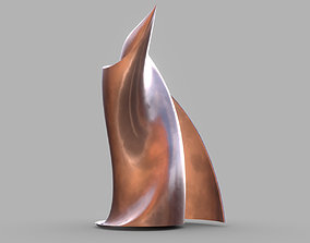 Weird Building Copper 3D model