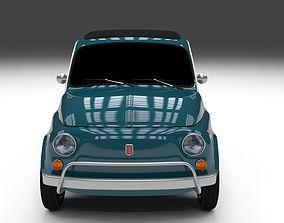 3D model Fiat 1968 500L Luxe