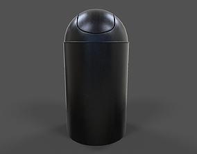 Trash Can V01 - Low Poly 3D asset