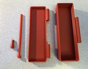 3D printable model Vape Case with Hinge for Storing Vape 4