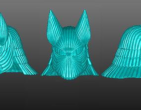 VLAD TEPES DRACULA LIFESIZE HELMET 3D print model 2