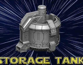 Storage tank 3D printable model starwars