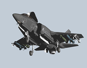 3D Japan Air Self-Defense Force F-35B