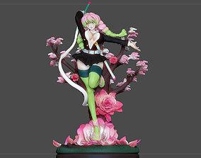 KANROJI Mitsuri KIMETSU NO YAIBA 3D printable model 2