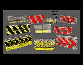 3D asset other barrier set 2