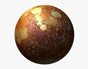Planet 3d model realtime