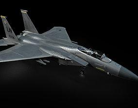 3D asset F15 C Eagle
