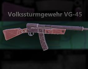 Volkssturmgewehr VG-45 3D asset
