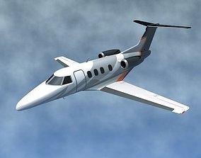 Embraer Phenom 100 business jet 3D asset realtime