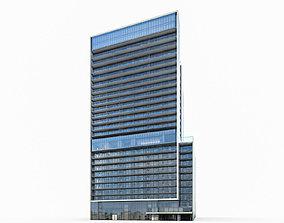 Apartment Building 01 3D asset