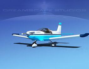 Zlin Z 242 V04 3D model