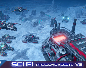 RTS Sci-Fi game assets v2 animated