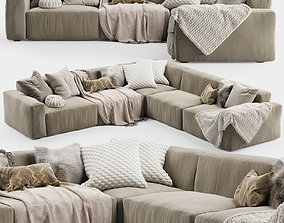 3D Elise Corner Sofa 2